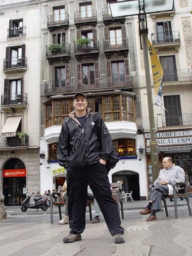 Хамиль в Барселоне